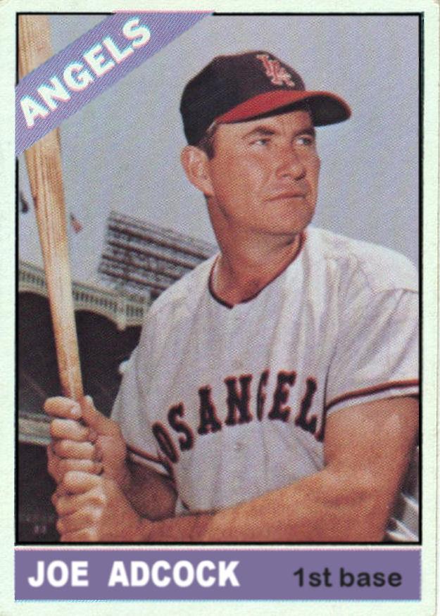 1966 Topps Baseball 1966 Custom Cards
