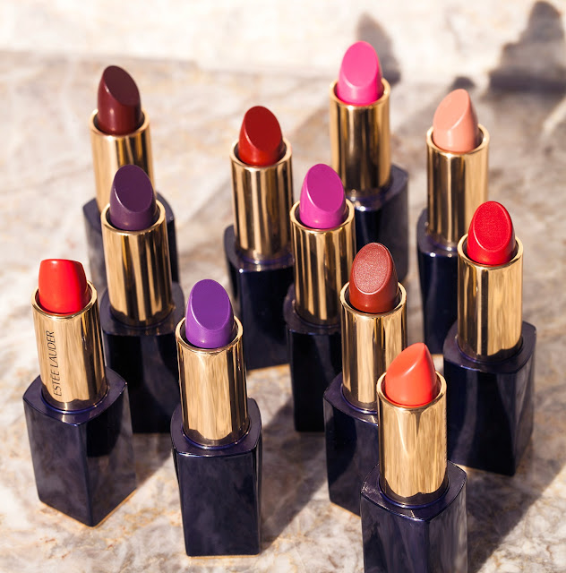 Matte lipsticks by Estee Lauder are super bold and rich