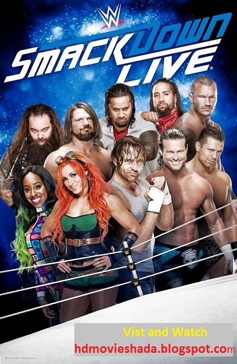 WWE Smackdown Live 01 January 2019 Full Show 720p HDRip 931MB Download