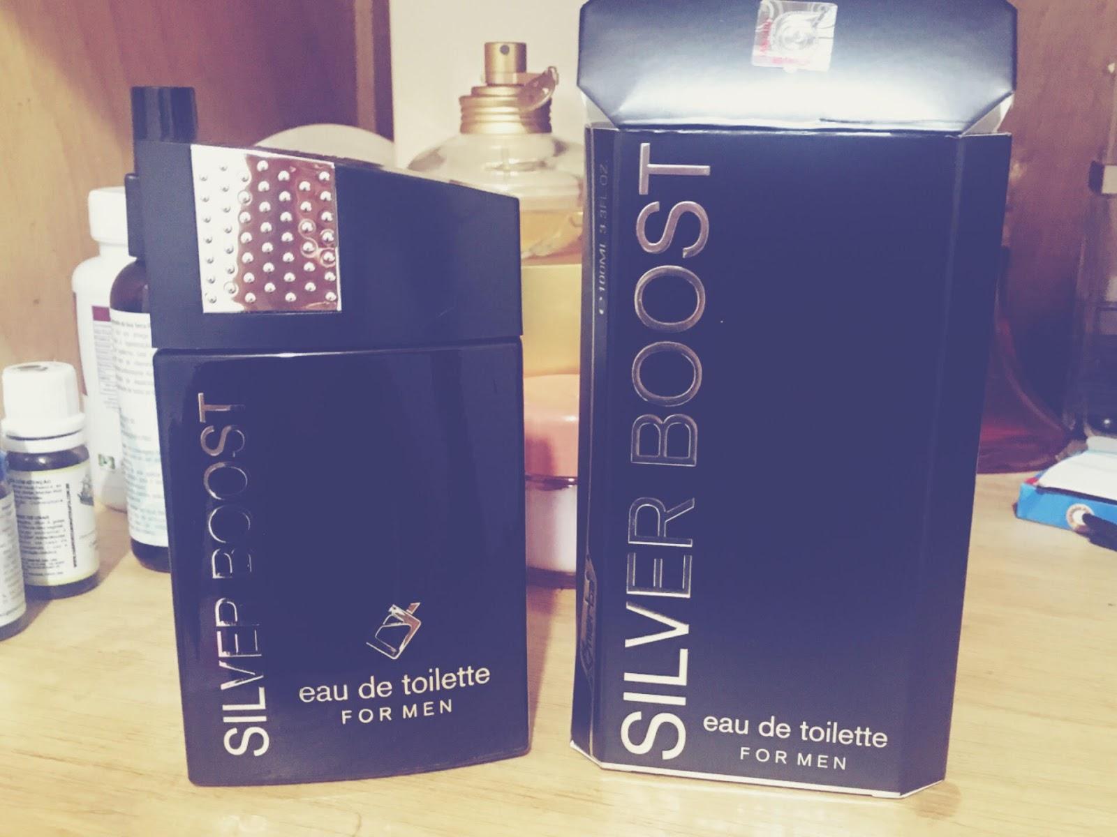 7a8e5b76dc Silver Boost é uma fragrância criada para o homem moderno