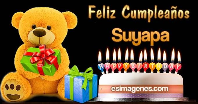 Feliz Cumpleaños Suyapa