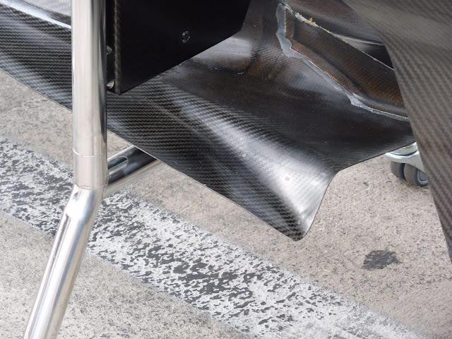 Mercedes W08 - Questa la vecchia specifica dei turning vanes Mercedes