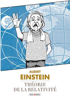 Couverture de Albert Einstein, La Théorie de la Relativité par la Team Banmikas chez Soleil Manga