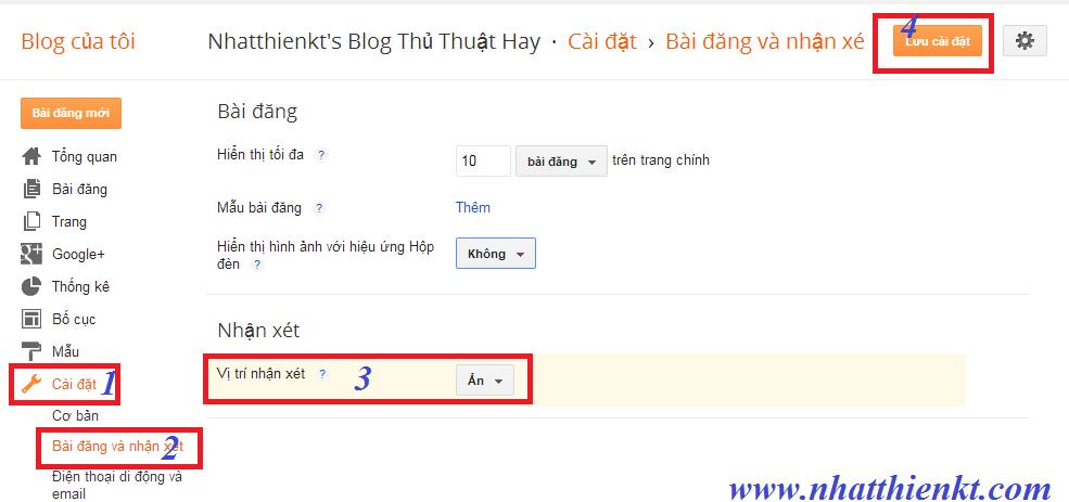 Chèn Comment Google + Google Plus vào cuối bài viết Blogger