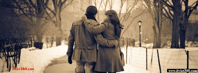 Ảnh bìa lãng mạn cho Facebook - Cover FB romantic timeline, cùng đi với em đến suốt cuộc đời