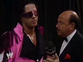 WWF/WWE ROYAL RUMBLE 1993 - Mean Gene Okerlund interviews World Wrestling Federation Champion Bret 'The Hitman' Hart
