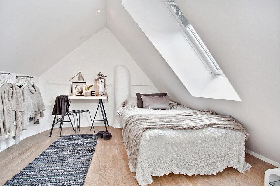 amenajari, interioare, decoratiuni, decor, design interior, penthouse, duplex,  dormitor, mansarda