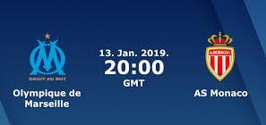اون لاين مشاهدة مباراة موناكو ومارسيليا بث مباشر 13-1-2019 الدوري الفرنسي اليوم بدون تقطيع