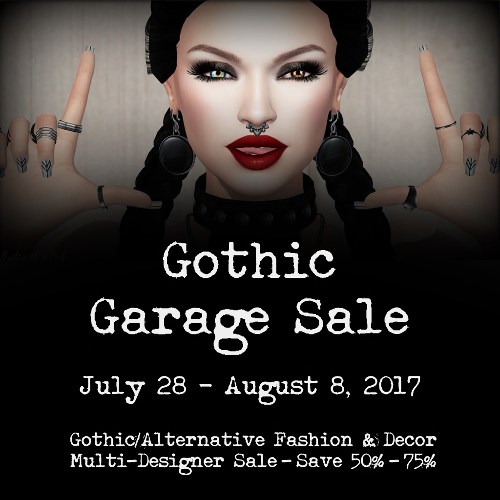 gothic garage sale sl blogging elite lane designed these fabulous rockabilly pumps compatible with slink belleza and maitreya it is also a 5l hunt gift at the gothic garage sale