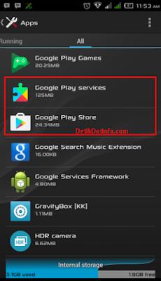 Tutorial Cara Mudah Mengatasi Error Code 963 Dan 907 Di Google Play Store