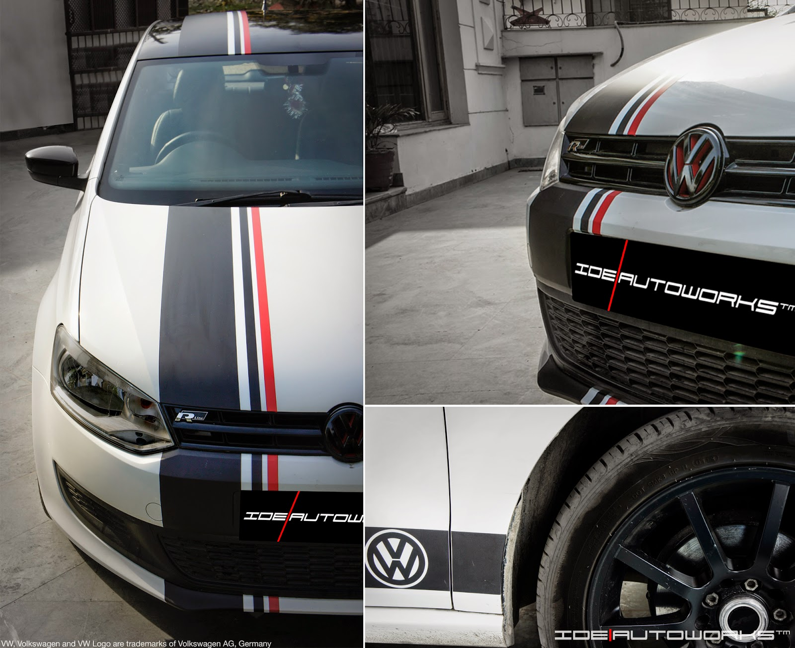 Vw Polo With Custom Racing Graphics Ide Autoworks