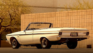 1963 Plymouth Sport Fury Convertible Rear