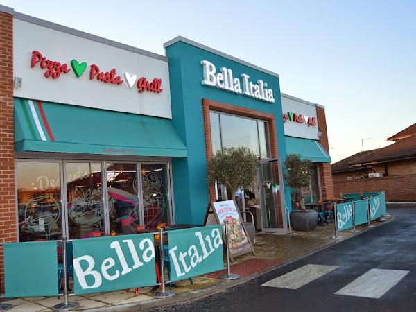 The New Kids Menu at Bella Italia