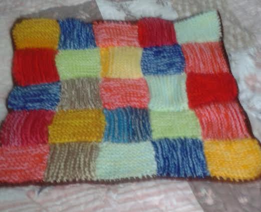 PATCHWORK CAT BLANKET