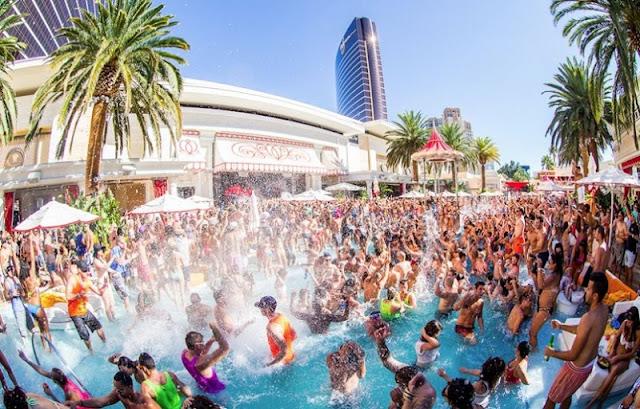 Verão em Las Vegas