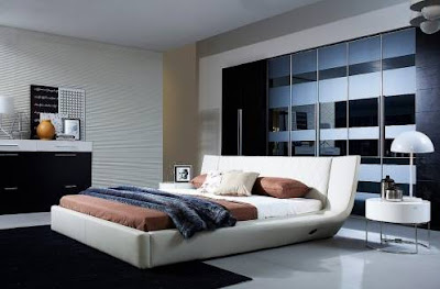 Contoh Desain Kamar Tidur Utama Modern