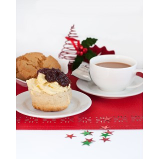 Christmas Cream Tea Hamper from Delimann