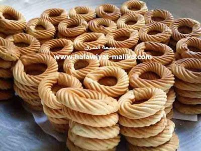 الكعك الليبي الهش