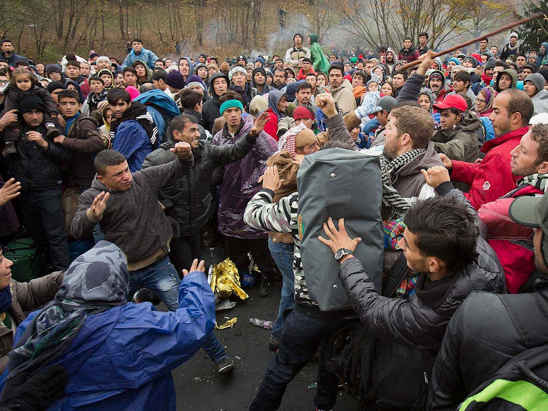 Os fluxos migratórios são estimulados pelo Corão que considera a ocupação 'pacífica' como ato meritório de 'guerra santa'.