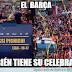 EL Barcelona también tiene motivos para festejar