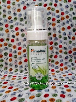 Himalaya Herbal Purifying Neem Foaming Face Wash