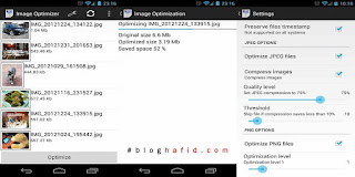 Aplikasi Android image optimizer