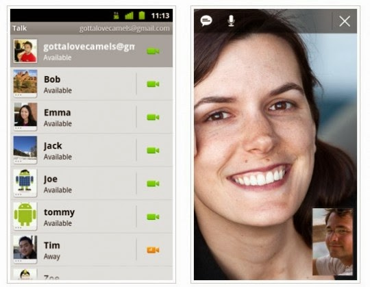 Gmail voice and video call software free download.