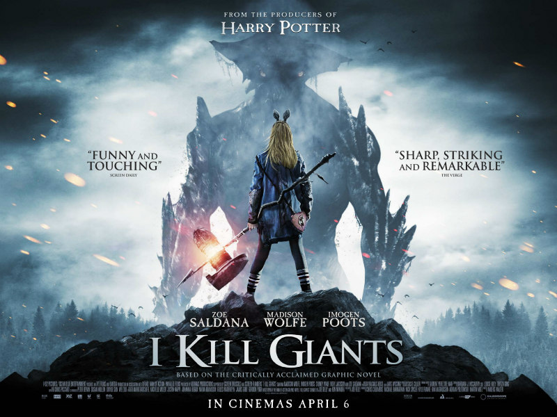 i kill giants uk poster