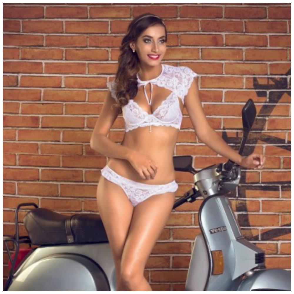 A lingerie certa para cada tipo de noiva!  3aa50501b78