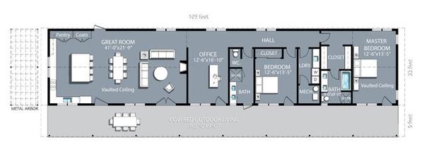 Desain Rumah Kos Sederhana dan Gambarnya