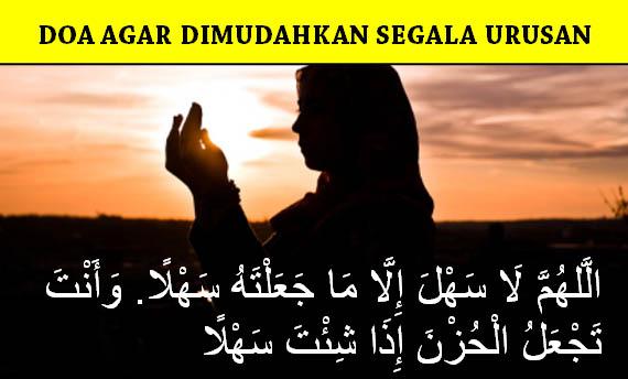 Doa Agar Dimudahkan Segala Urusan