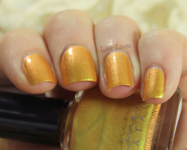 Femme Fatale Cosmetics Sandscrawler nail polish swatches & review