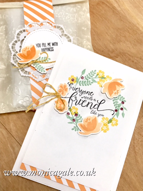 Stampin'Up! UK demo Monica Gale