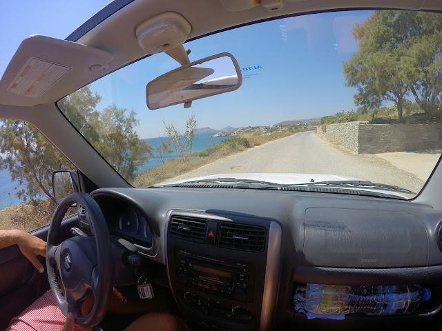 Roadtripping Paros Greek Islands
