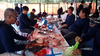 PT.Pertamina  Unit VI  Balongan Salurkan Puluhan Sapi Dan Kambing Ke Masyarakat