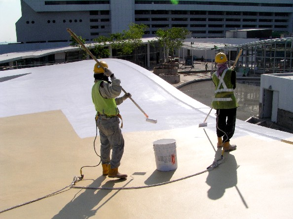White Roofing Systems Liquid Applied Membranes Are