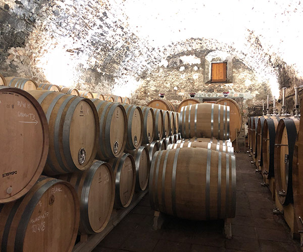 Sala de Barricas, Bodega Cellers Scala Dei, Vino