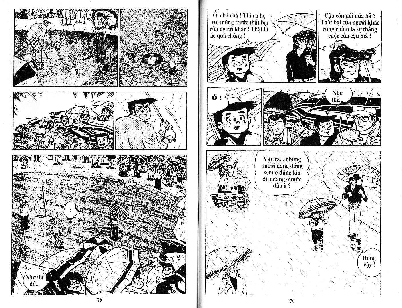 Ashita Tenki ni Naare chapter 27 trang 38