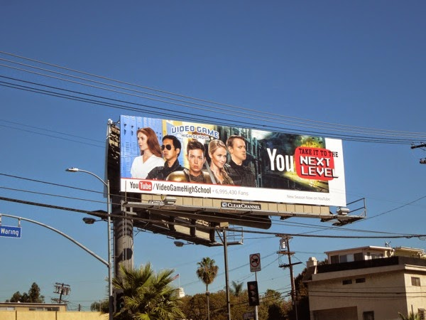 Video Game High School season 3 billboard