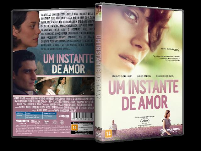 Capa DVD Um Instante De Amor