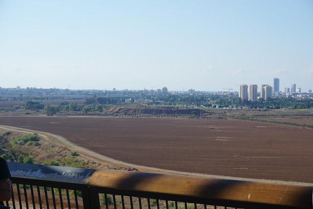 הנוף מפארק אריאל שרון