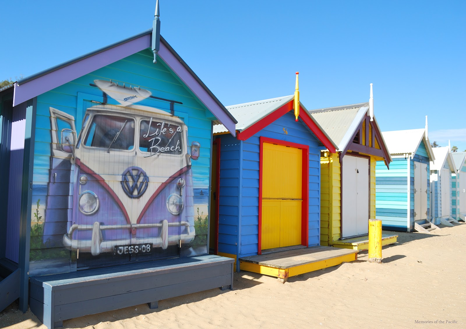 brighton beach bathing boxes melbourne australia