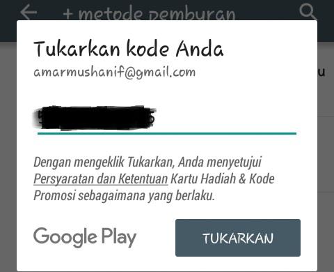 Ini Dia Cara Mengisi Kode Voucher Google Play Melalui Indomaret