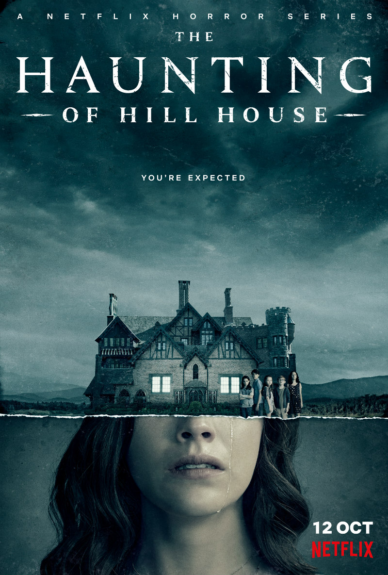 THE HAUNTING OF HILL HOUSE netflix poster