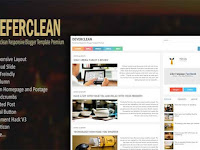 DOWNLOAD TEMPLATE BLOGGER DEVERCLEAN SEO RESPONSIVE