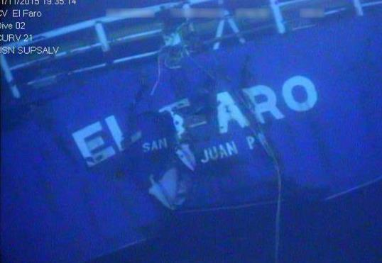 EL FARO's Missing Voyage Data Recorder Found by the Search Team (Video)