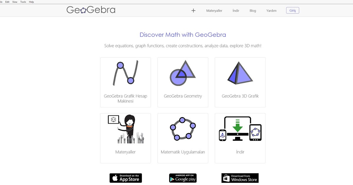 Mathematics is everything!: GeoGebra!