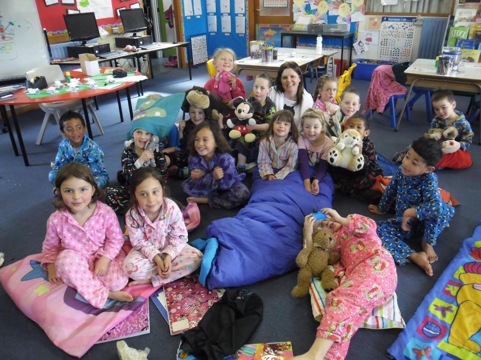 Room 8 Ens Pajama Day