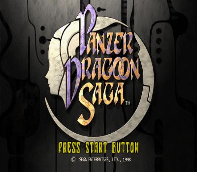 Panzer Dragoon Saga - Título RPG