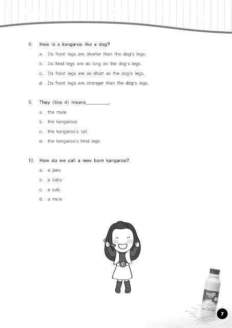ตัวอย่างแนวข้อสอบวิชาภาษาอังกฤษ